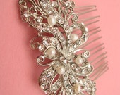 Bridal hair comb wedding hair accessory bridal hair jewelry wedding accessory bridal hair jewelry wedding headpiece bridal comb pearl comb