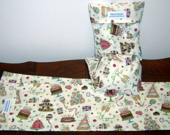 Happy Birthday Celebration Neck and Body Spa Therapy Removable and Washable Pillow Cover