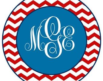 Fourth of July Monogram