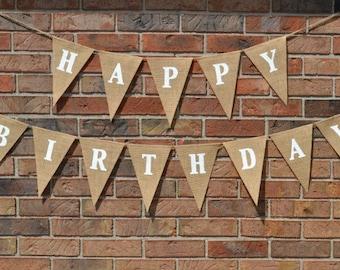 Birthday Banner  ..   Adult Birthday   ...   Happy birthday