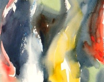 Koi Fish No.8, limited edition of 50 fine art giclee prints from my original watercolor