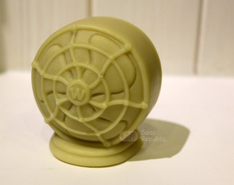 Vintage Fan Silicone Soap Mold ( Soap Republic )