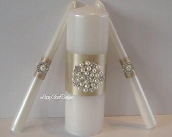 Unity Candles, Wedding Unity Candle Ceremony Unity Candles Set, Custom Made