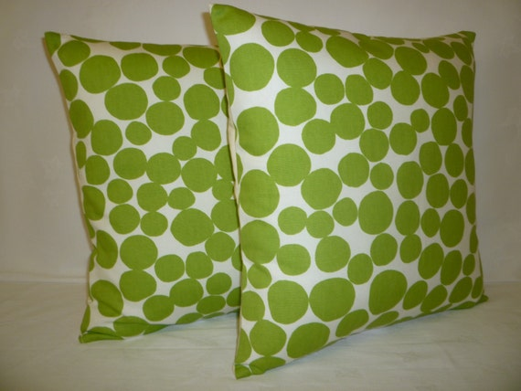 cushion covers lime green modern funky retro designer pillows. Black Bedroom Furniture Sets. Home Design Ideas