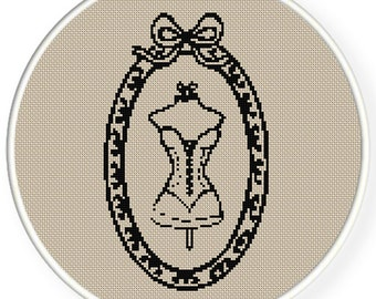 Instant download,free shipping,Cross stitch pattern, Crossstitch PDF/JPEG,vintage mannequin pattern, cross stitch pattern,zxxc0362