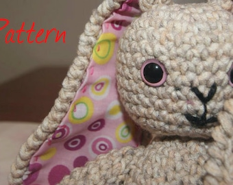 2-in1 PDF Crochet Pattern for a Rabbit and a Teddy Bear
