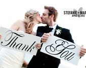 Thank You Wedding Signs for your Wedding and Thank you cards.