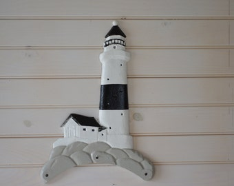 Cast Iron Lighthouse Wall Decor