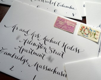 Wedding Calligraphy: Virginia Font