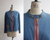 Vintage 1960s Jacket Coat Size M