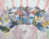 Water Fairies Gift Tags set of 8 No. 270