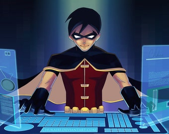 Young Justice: Robin Poster
