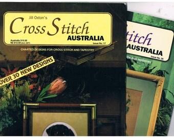 CROSS STITCH AUSTRALIA -by Jill Oxton