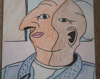"""Cubism Portrait - """"Portrait 2"""""""