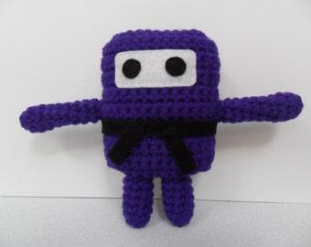 Mini Ninja Plush - Amethyst / Purple / Mauve