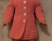 187 Princess Coat Set - Crochet Pattern for American Girl Dolls