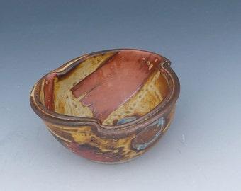 Versatile Pottery Dip Salsa Bowl