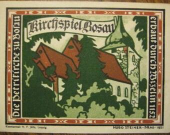 Germany 1921 Notgeld 1 Mark - Kirchspiel Bosau