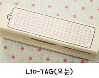 1 Pcs Korea DIY Wood Rubber Stamp-Lace Stamps L10