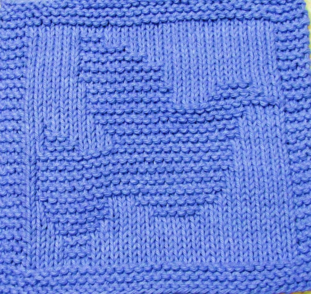 Dove Knitting Pattern : Knitting Cloth Pattern HOLY DOVE PDF