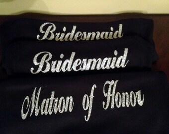 Bride Bridesmaid Bridal Party Personalized Tank Top
