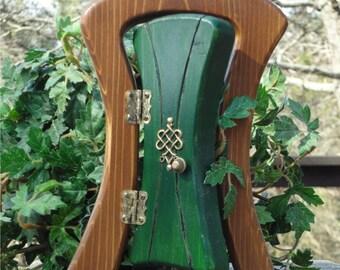 Opening Leprechaun Fairy Door