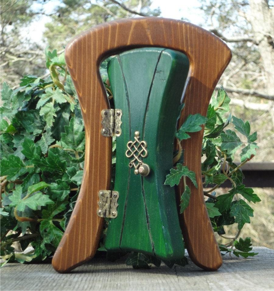Opening Leprechaun Fairy Door By Faekeepers On Etsy