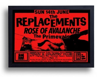 The Replacements Framed Gig Poster Print