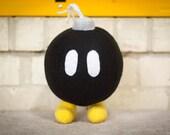 Super Mario Bob-omb Plush