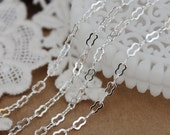 6.6Feet Chain Silver Plated Brass Eight Figure Chains Perfect for  Necklaces and Bracelets (CHAINSS-16)