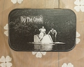 Altered Altoid Tin Up The Creek
