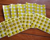 10 sheets Vintage Smiley Face Stickers 80s 70s 60s Have a Nice Day 210 stickers