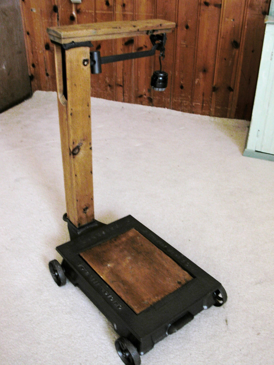 Antique Floor Weight Grain Scale By Moesemporium On Etsy