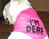 I'm Blind or I'm Deaf Dog Bandanas