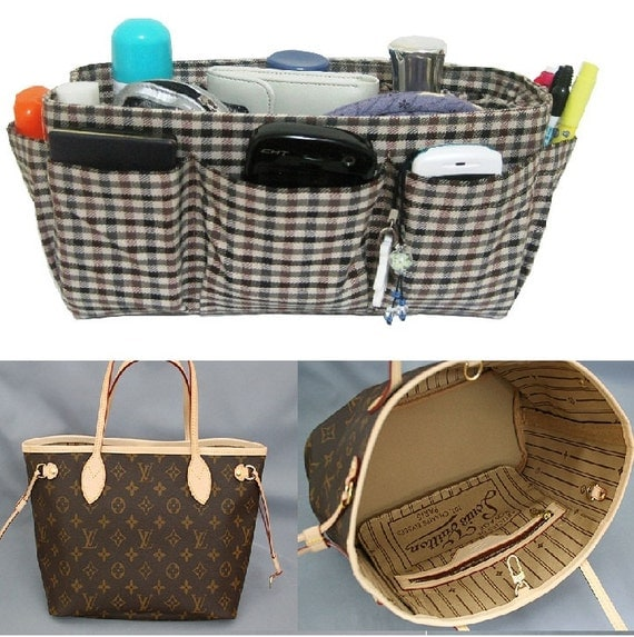 Purse Organizer For Louis Vuitton Neverfull PM / Made to Order