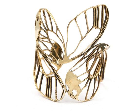 Butterfly Cuff - Butterfly Wing Cuff - Butterfly Jewelry