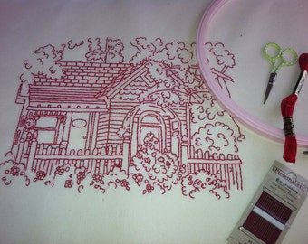 Cottage stitchery Pattern