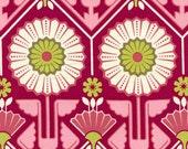 Joel Dewberry - Modern Meadow - Sunflower in Berry  JD33 - Free Spirit Fabric  - 1 Yard