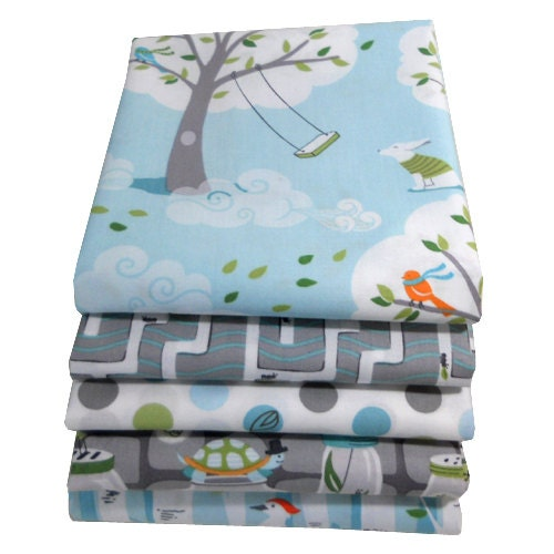 Fat Quarter Bundle Backyard Baby Michael Miller Fabrics