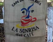 Burlap Coffee Sack Bag Cool Graphics