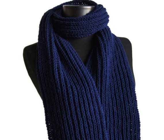 items similar to sale 20 blue knit scarf winter