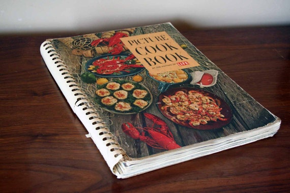 1962 - The Picture Cook Book by the Editors of Life - Vintage Cookbook - Time Inc. - Mid Century