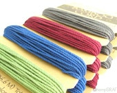 Bamboo Cord, Earthtone Colored Natural Jewelry and Craft String