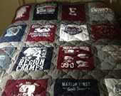 Personalized T-Shirt Quilt