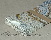 Map Paper Pouches / Sleeves / Pockets