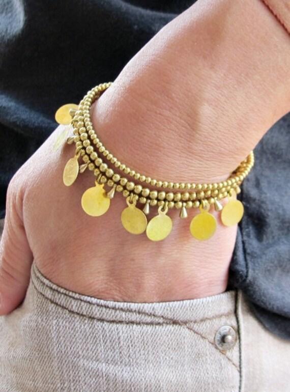 Charm Romany Multi line Bracelet