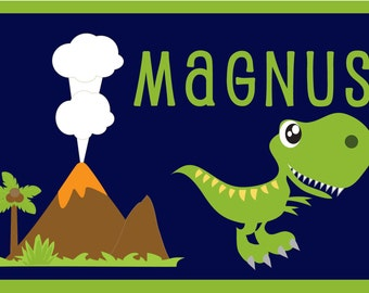 Personalized Dinosaur Placemat