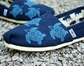 Sea Turtle Custom TOMS Shoes