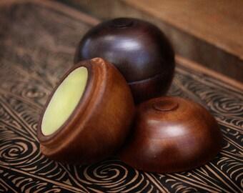 Perfume Solid Tahitian Tiare In wood