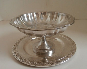 Candy Dish Silver Plate WM A Rogers